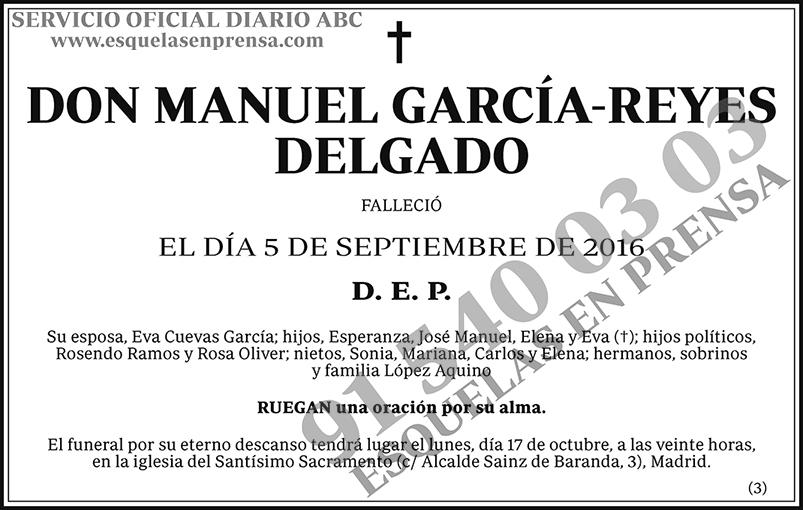 Manuel García-Reyes Delgado